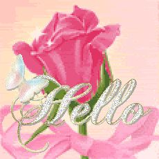 Animated Gif by Fiona McIntosh Beautiful Gif, Beautiful Roses, Make Me Smile Quotes, Hello Quotes, Happy Sunday Quotes, Bling Wallpaper, Cute Good Morning, Glitter Graphics, Bible Art
