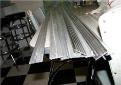Aluminum Tee Countertop Edging