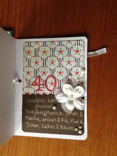 Scrapbooking card 40
