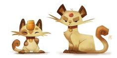 Kanto Illustrations #050 - 073 - Created by Piper Thibodeau