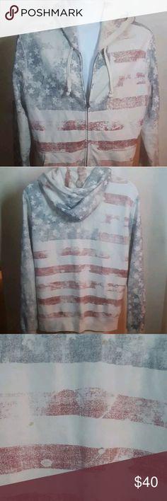 f4cc350147b Denim   Supply Ralph Lauren Star Flag Hoodie Has a few stains on the back!