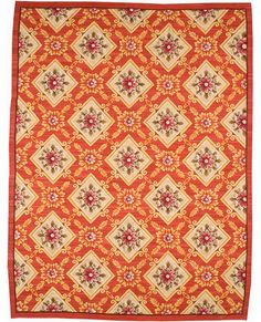 Aubusson 5211 Red/Ivory