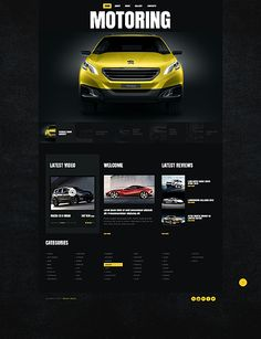 This #Boostrap Design theme is great for Online #CarMagazine blog. $75. This is also a #ResponsiveDesign theme.