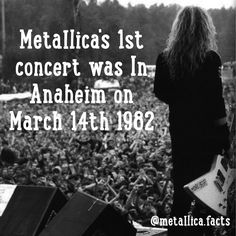 Where it all started  Reposted Via @metallica.facts