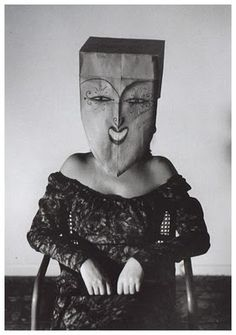 saul steinberg's mask party.