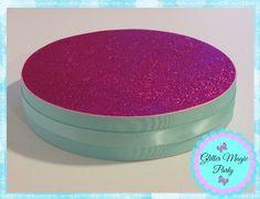 Fucshia Stand - Cakepops or Lollipops Stand - Candy Buffet - Fucshia and Aqua Colors