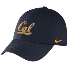 California Golden Bears Nike Dri-FIT Heritage 86 3D Hat  http://www.calbearsshop.com/cal1031111403.html