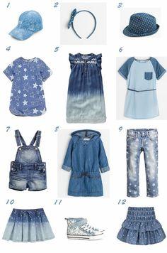 Denim Mania Trend / Tendencia Primavera Verano 2014 Moda Niña Denim manía