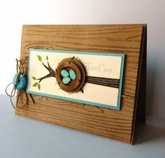 Careful Nesting by lbirus - Cards and Paper Crafts at Splitcoaststampers