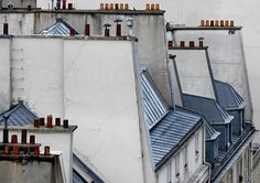 Parisian Rooftops  by  Michael Wolf