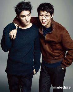 Jae Joong ang Yoochun - Marie Claire Magazine August Issue '14