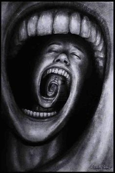 Sometimes we all just want to scream and be left alone...from all the pressures of the world