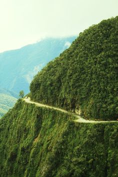 Los Yungas, world´s most dangerous road. From La Cumbre to Coroico, Bolivia by Ravi J, 2007