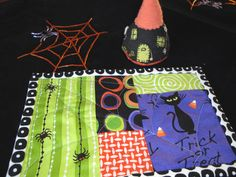 Happy Halloween Mug Rug....Love it!!!