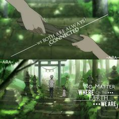 Anime - No Mori E This anime Is so emotional 😭😭 Sad Anime Quotes, Manga Quotes, Sad Quotes, Hotarubi No Mori, Manga Characters, Anime Films, Anime Group, My Life Quotes, Attitude