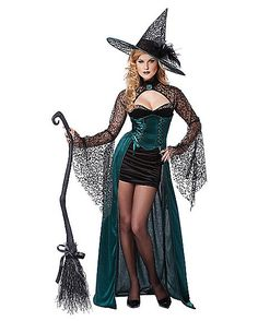 adult womens enchantress witch costume spirithalloweencom - Salem Witch Halloween Costume