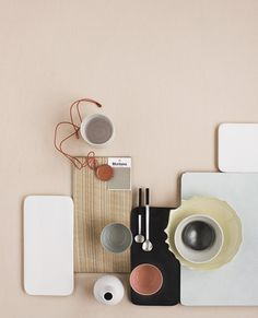Foto Heidi Lerkenfeldt  #inspiration #table #color