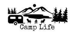 Camp decal