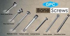 Types of Orthopedic Bone Screws