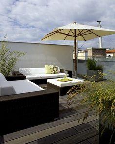 Dachterrasse - Gestaltung Terrasse - Moderne Dachterrasse