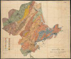 Geological map of Essex County, Massachusetts, Sears, John Henry