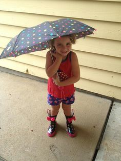 Scarlett in Rain boots by nickipousson, via Flickr