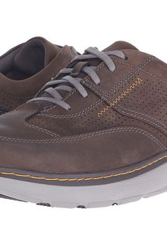 Clarks Charton Mix (Dark Brown Leather) Men's Lace up casual Shoes - Clarks, Charton Mix, 26115001-206, Footwear Closed Lace up casual, Lace up casual, Closed Footwear, Footwear, Shoes, Gift, - Fashion Ideas To Inspire