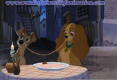 Disney Studios production cel Animation Art of Lady From Disney Studios