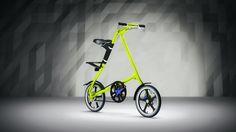 Strida Bike   Freelancers 3D