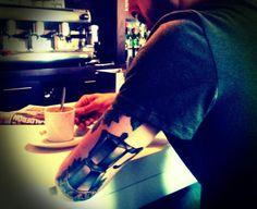 Tattoo coffee Italian kittle wakeup