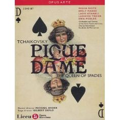 Tchaikovsky: Pique Dame (The Queen of Spades) [Blu-ray] Estas Tonne, Catherine The Great, Queen Of Spades, Dvd Set, Orchestra, Movie Tv, Musicals, Opera, Products