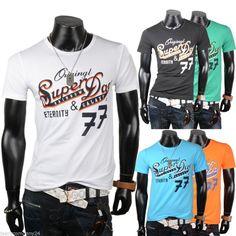 """T Shirt Clubwear Shirt 5 Farben. """"Super Rainbow Day"""". Jeans Fashion M-L-XL-XXL"""