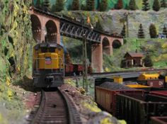 model train layouts in action. Get All The Clever Model Train Scenery Ideas  You'll Need...