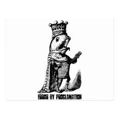 #fishing - #King fish:  Error by Proclamation Postcard