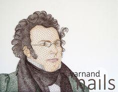 string art - Franz Peter Schubert