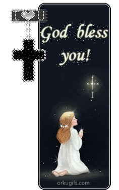 God Bless you, Jesus love's you