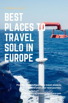 Europe is full of history and amazing places. In this guide, you will find loads of recommendations on where to travel solo in Europe. The guide includes places and itineraries. #adventure #Europe #solotraveling #wanderlust #travel #traveltips Most Beautiful Cities, Beautiful Places To Visit, Amazing Places, Greece Itinerary, Solo Travel Tips, Best Places To Travel, Travel Alone, Travel Images, Travel Destinations