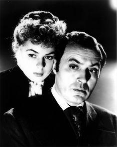 Ingrid Bergman and Charles Boyer - GASLIGHT