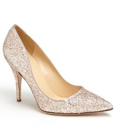 kate spade rose gold glitter pumps http://rstyle.me/n/ejzh5nyg6