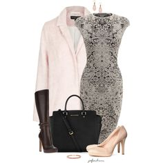 One Outfit, Two Shoe Options v. 1, created by jafashions on Polyvore