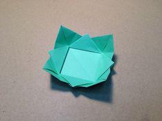 Origami Dish Instructions