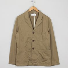 Suit Jacket - Khaki | Universal Works | Peggs & son.