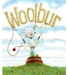 """Woolbur had a little trouble with the herd today"", said Maa. - Woolbur by Leslie Helakoski, illus. by Lee Harper Wild Dogs, Children's Literature, Book Authors, Story Time, 6 Years, Kids Playing, Book Worms, Childrens Books, Sheep"
