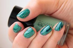 Vicerimus: an outlet for a girl's addiction to nail polish and nail art: manicure: water marble