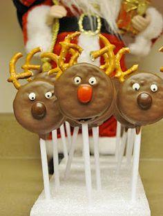 """DIY HOLIDAYS: """"Cute Food For Kids"""" : 37 Edible Reindeer Crafts"""