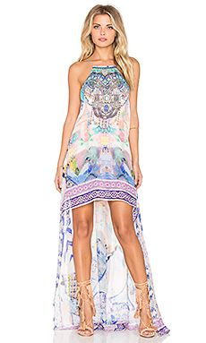 Shop for Camilla Short Sheer Overlay Dress in Gaudi Tribute at REVOLVE. Free 2-3 day shipping and returns, 30 day price match guarantee.