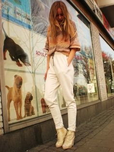 HM Pants + Shirt, Yesstyle Shoes