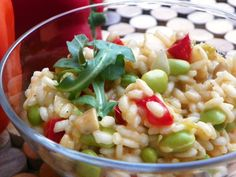 Vegan Risotto! Colorful recipe from Dietitian Jen Reilly's cookbook