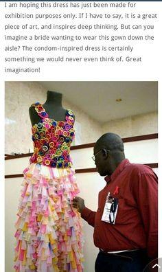 Ghetto wedding dress