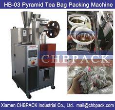 nylon triangle pyramid tea bags packaging machine